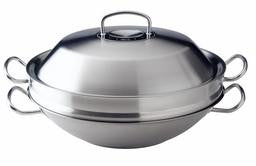 Fissler Original Pro Wok with Stainless Steel Lid