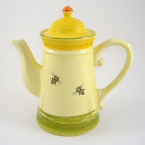 Zeller Keramik Bees Coffee Pot