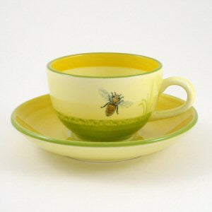 Zeller Bees Saucer for Teacup 15cm
