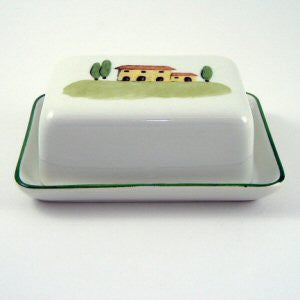 Zeller Bella Toscana Butter Dish with Lid