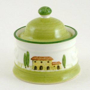 Zeller Bella Toscana Sugar Bowl with Lid 20cl