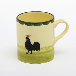 Zeller Cocks & Hens Children's Mug 20cl with Name Inscribed
