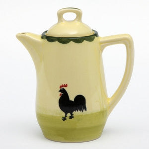 Zeller Cocks & Hens Coffee Pot 35cl