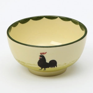 Zeller Cocks & Hens Small Bowl 11cm