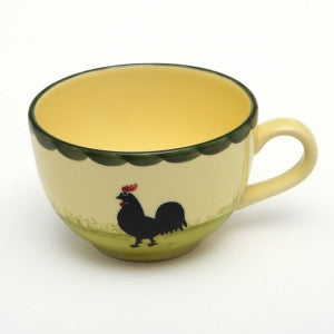 Zeller Keramik Cocks & Hens Teacup