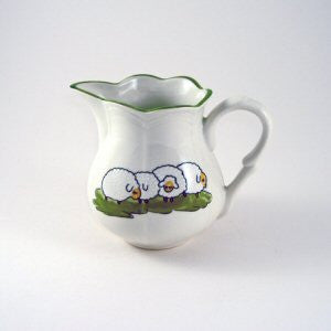 Zeller Shepherd & Sheep Cream Jug 20cl