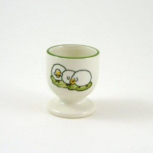 Zeller Keramik Shepherd & Sheep Egg Cup