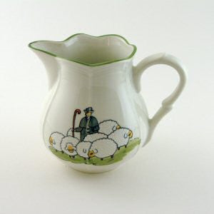 Zeller Shepherd & Sheep Milk Jug