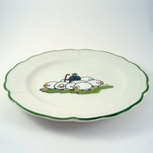 Zeller Shepherd & Sheep Soup Plate 23cm