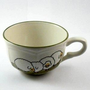 Zeller Keramik Shepherd & Sheep Teacup