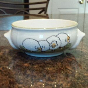 Zeller Shepherd & Sheep Soup Bowl 30cl