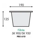 Filtrite SK950 Skimmer Basket - WA Pool Warehouse Your pool store