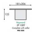 Hayward SP1089 Skimmer Basket With Collar - WA Pool Warehouse Your pool store