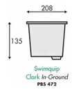 Swimquip Clark WA72 Skimmer Basket - WA Pool Warehouse Your pool store