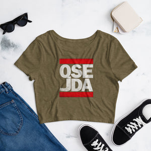 QSE JDA Women's Crop Tee