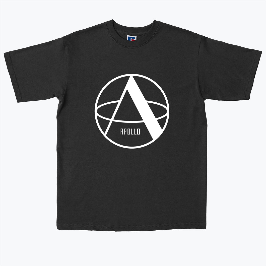 Apollo Records Logo Black Tee