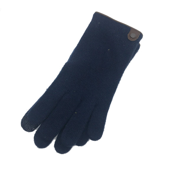 Wool and Cashmere Knitted Glove