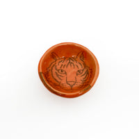 Lora Shelley Tiger Pinch Pot