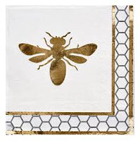Honey Bee Cocktail Napkin pack of 20