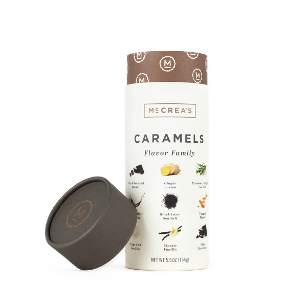Flavor Family of Caramels Tube