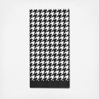 Black and White Guest Towel pack of 20