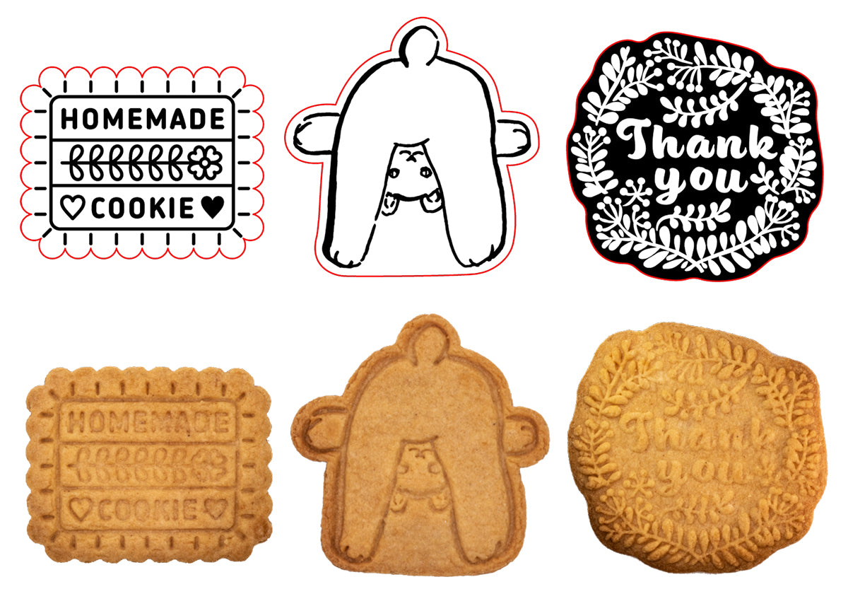 Made-to-order cookie type sample