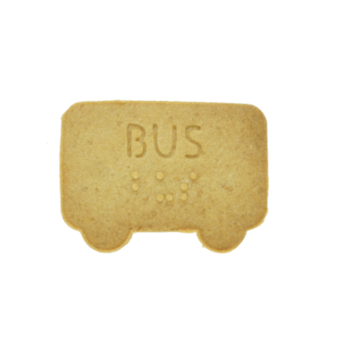 No.0031 Braille Cookie Cutter[BUS]