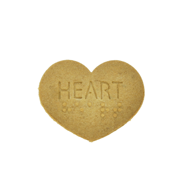 No.0037 Braille Cookie Cutter[HEART]