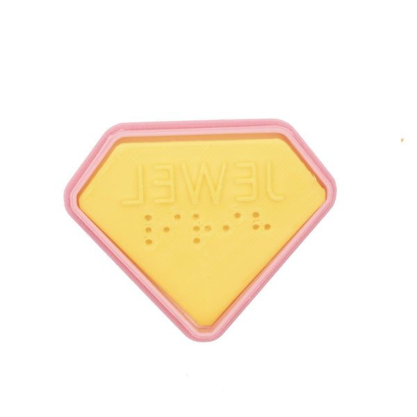 No.0039 Braille Cookie Cutter[ JEWEL]