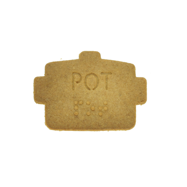No.0045 Braille Cookie Cutter[POT]