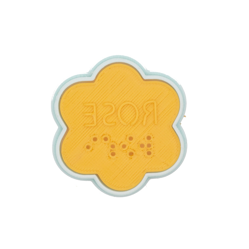 No.0047 Braille Cookie Cutter[ROSE]