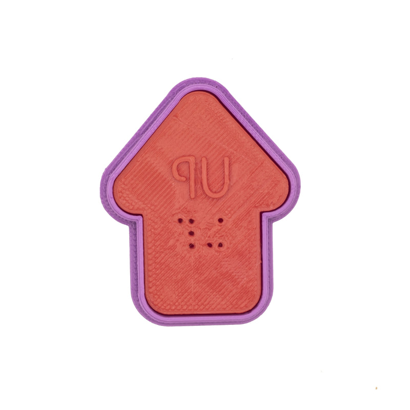 No.0050 Braille Cookie Cutter[UP]