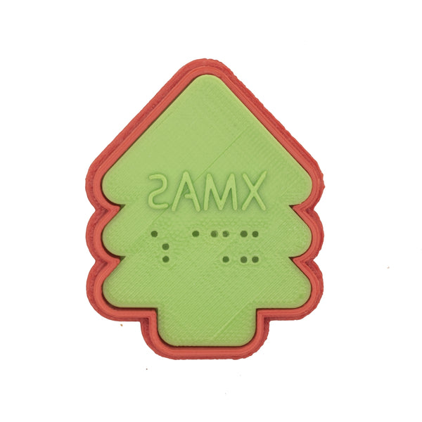 No.0053 Braille Cookie Cutter[XMAS]