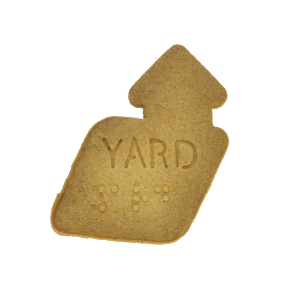 No.0054 Braille Cookie Cutter[YARD]