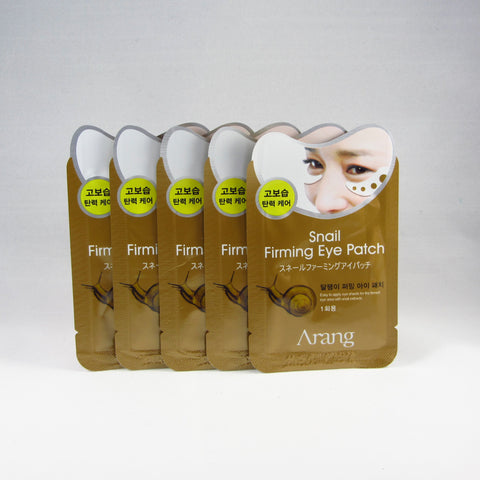Arang Snail Firming Eye Patch (5 pairs)