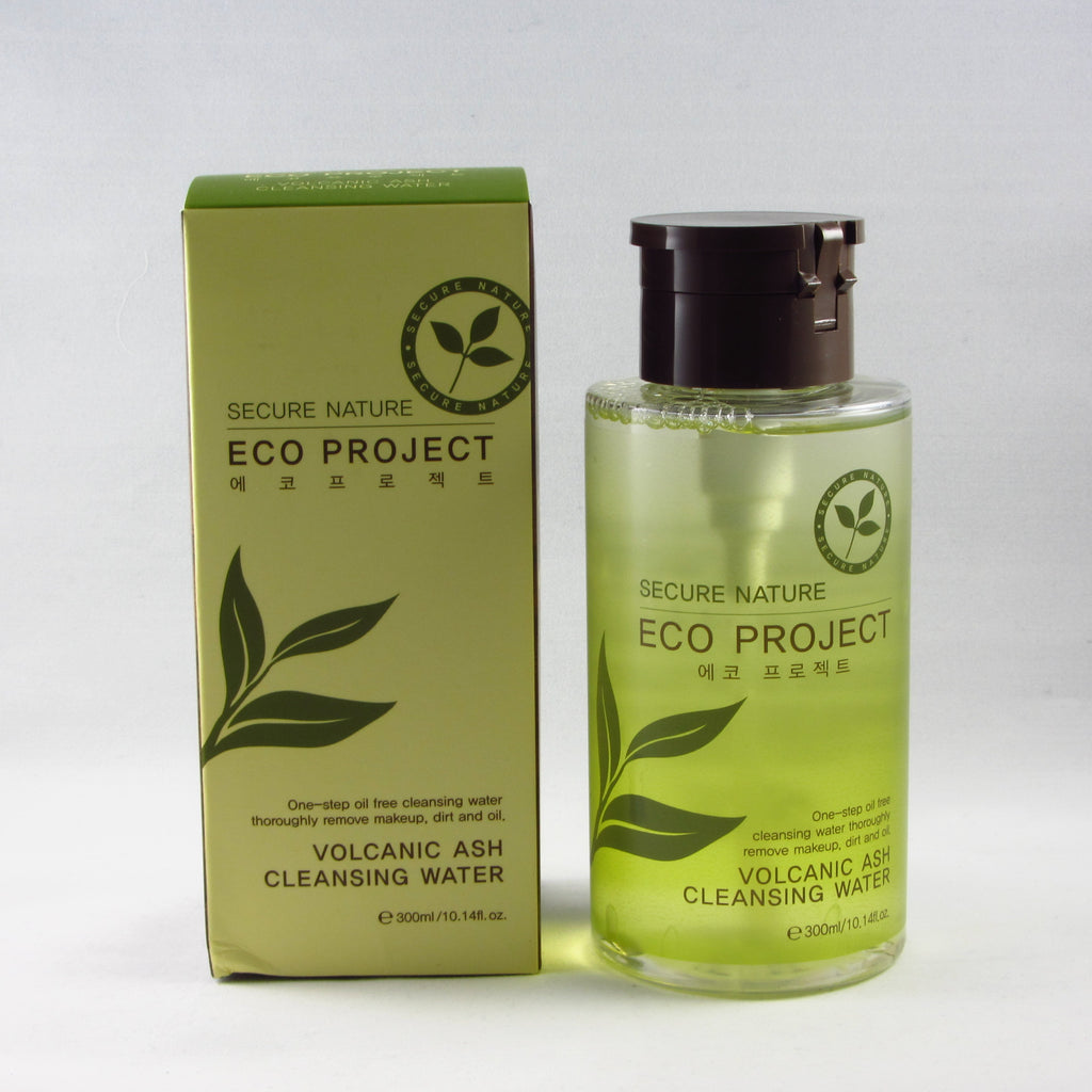 Secure Nature Eco Project Volcanic Ash Cleansing Water