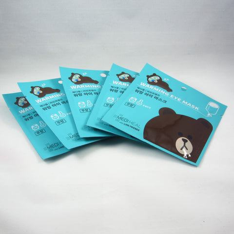 Mediheal  LINE FRIENDS Warming Eye Mask - Unscent