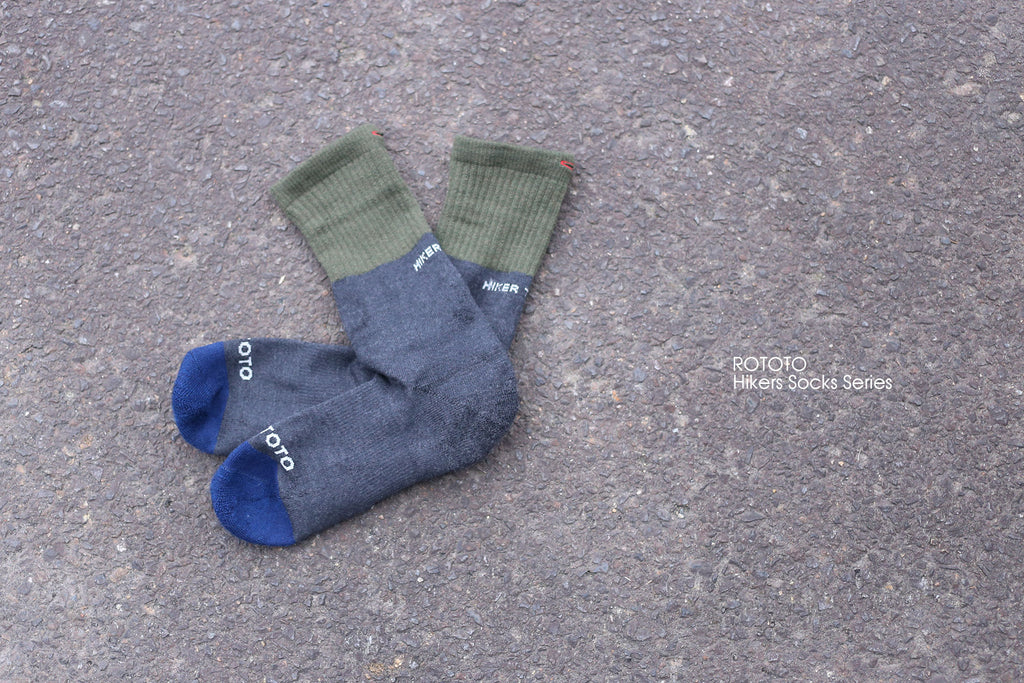 "ROTOTO ""Hikers Socks Series"""