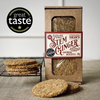 Stem Ginger Savoury Oatmeal Biscuit Box 160g - Best British Produce