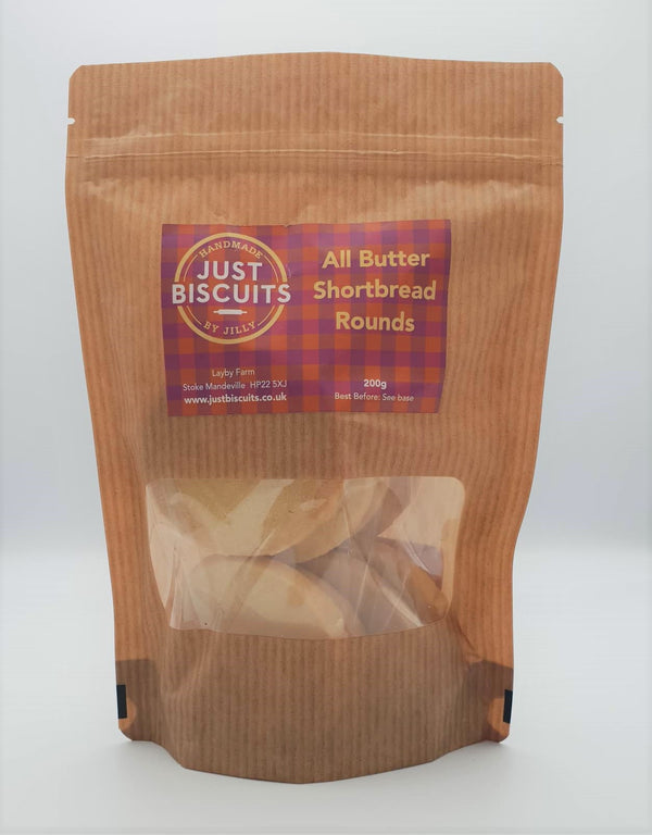 All Butter Shortbread 200g Just Biscuits By Jilly