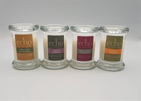 Mini Jar Candle - ECHO Candles -  4 Fragrances to Choose From