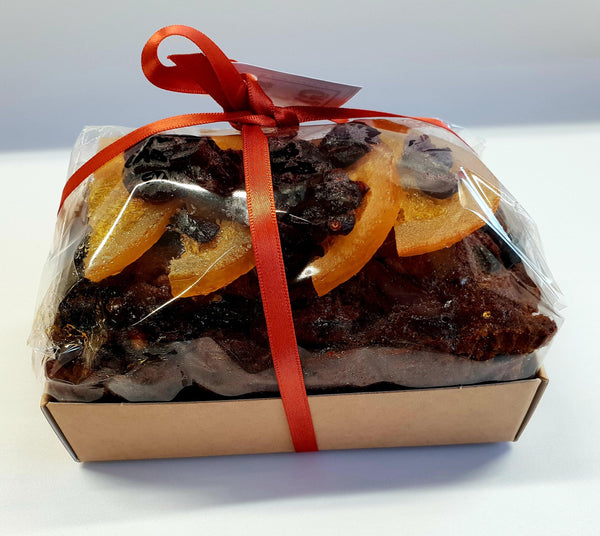 Gin Clementine & Cranberry Fruit Cake 500g - Best British Produce