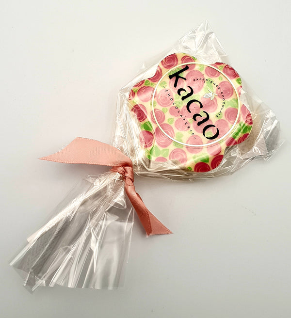 Kacao Chocolateir White Chococolate Lollipop