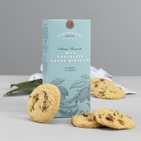 Milk Chocolate Chunk Biscuits 200g Cartwright & Butler