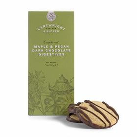 Maple & Pecan Digestive Biscuits 200g Cartwright & Butler