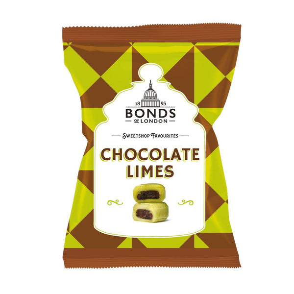 Chocolate Limes Bag 150g - Best British Produce