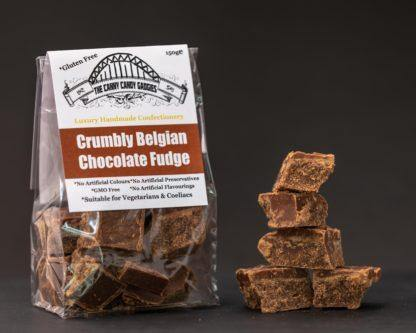 Crumbly Belgian Chocolate Fudge 150g - Best British Produce