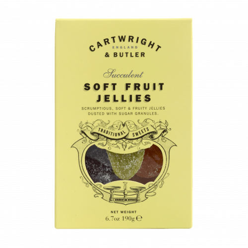 Soft Fruit Jellies Carton 190g Cartwright & Butler