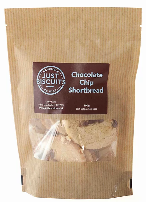 Chocolate Chip Shortbread 200g - Best British Produce