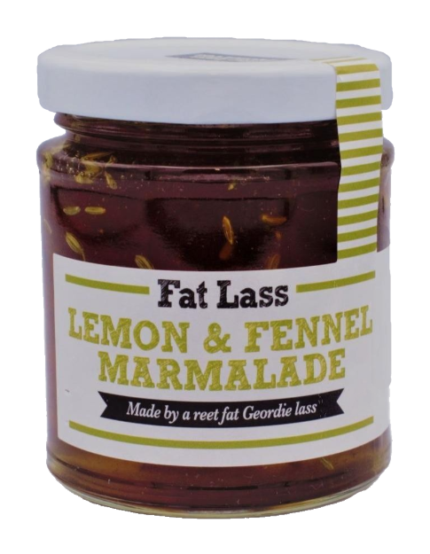 Lemon and Fennel Marmalade 395g Fat Lass Preserves